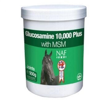 Подкормка NAF, GLUCOSAMINE 10 000 PLUS with MSM (,  900 гр)